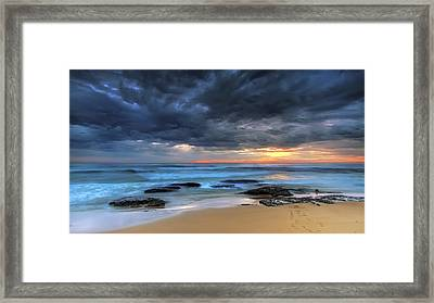 Where One Once Stood Framed Print by Mark Lucey