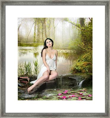 Where Secrets Are Kept Framed Print by Mary Hood