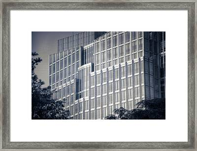 Where Superman Hides Out Framed Print by Joan Carroll