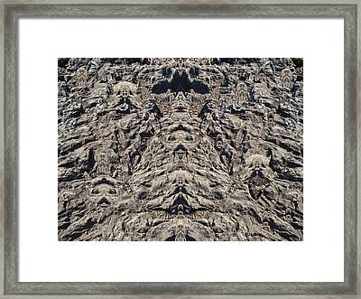 Where The Scary Things Are Framed Print