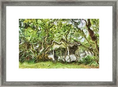 Where We Lived - Fantasy Framed Print