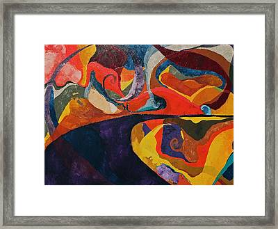 Where You Let Yourself Go Framed Print by Missy Borden