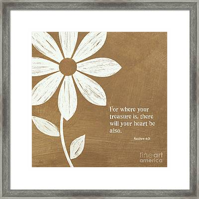 Where Your Heart Is Framed Print by Linda Woods