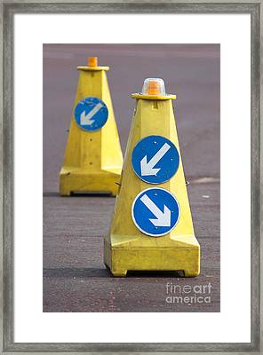 Which Way Framed Print