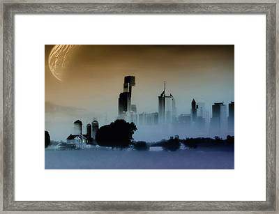 While The City Sleeps Framed Print by Bill Cannon