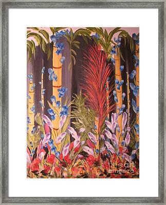 Whimsical  Bamboo Framed Print