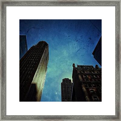 Whimsical Sunset - Nyc Framed Print