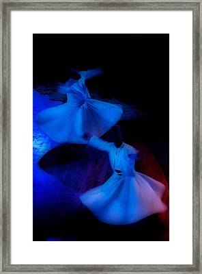 Whirling Dervish - 3 Framed Print by Okan YILMAZ