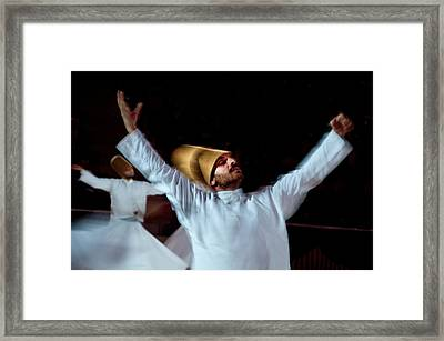 Whirling Dervish - 4 Framed Print by Okan YILMAZ