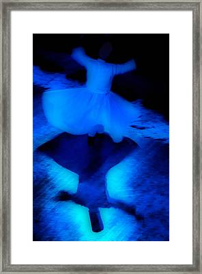 Whirling Dervish - 5 Framed Print by Okan YILMAZ