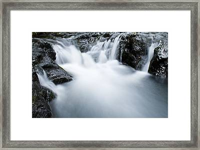 Whirlpool Framed Print by Paul Robb
