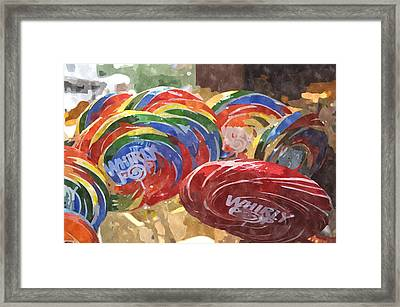 Whirly Pop Wpwc Framed Print