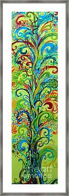 Whirlygig Tree Framed Print