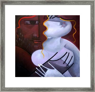 Whisper Framed Print by Nikolai Rusev