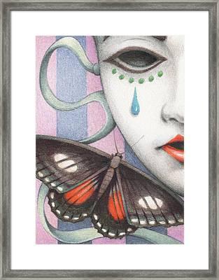 Whisper Of Omens Framed Print by Amy S Turner