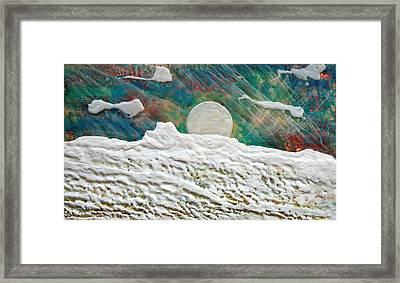 Whistler Moon Framed Print