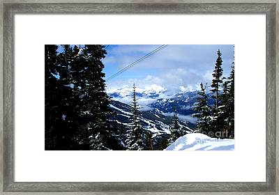 Whistler View  2 Framed Print by Tanya  Searcy