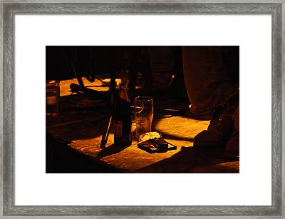 Whistlers Thirst Framed Print