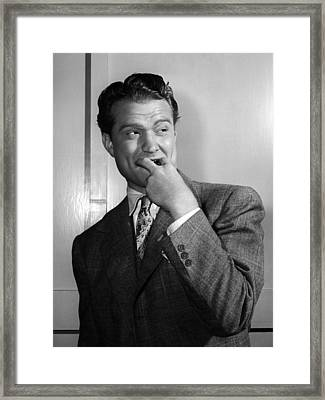 Whistling In Brooklyn, Red Skelton, 1943 Framed Print by Everett