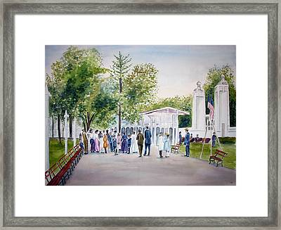 White City Framed Print