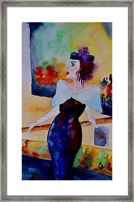 White Gloves Framed Print by Beverley Harper Tinsley