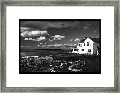 White House At Nuble Framed Print