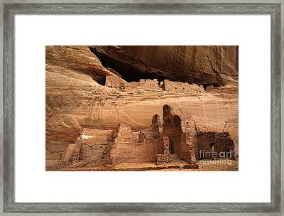 White House Ruin Canyon De Chelly Framed Print by Bob Christopher