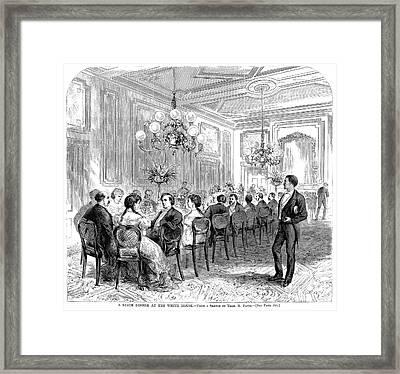 White House: State Dinner Framed Print