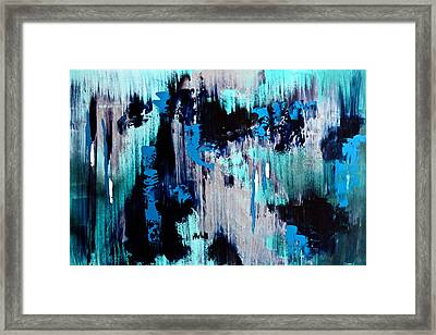 White Noise Framed Print by Eric Chapman