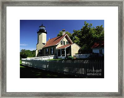 White River Light Framed Print