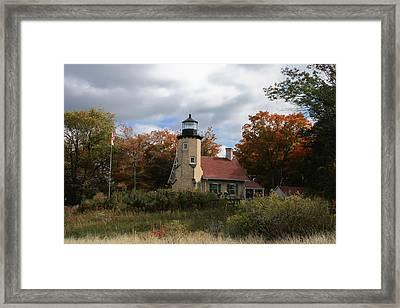 White River Lighthouse Framed Print by Richard Gregurich