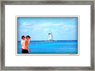 White Sails Framed Print by Danielle  Parent