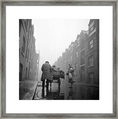 Whitechapel Street Framed Print by John Chillingworth