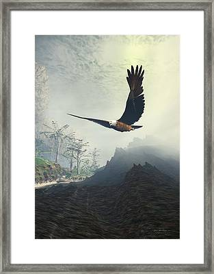 Whitelighter Framed Print by Sipo Liimatainen