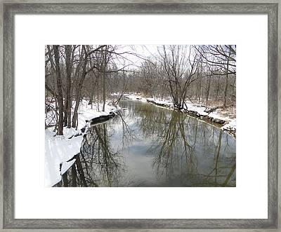 Whitemans Creek Framed Print by Bruce Ritchie