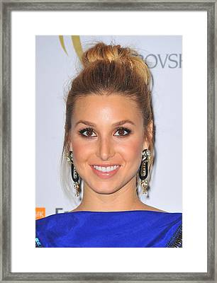 Whitney Port At Arrivals For The 2nd Framed Print