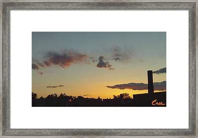 Whittier Evenings Soiree 5 28 12 A Framed Print by Feile Case