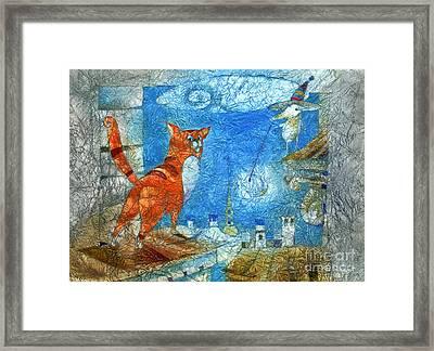 Who Lights The Stars Framed Print by Svetlana and Sabir Gadghievs