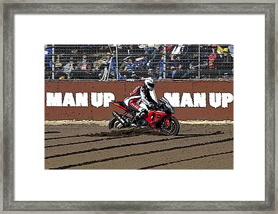 Who Needs A Dirt Bike Framed Print