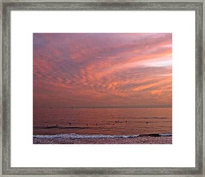 Who Needs Waves Framed Print