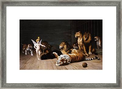 Whoever You Are Here Is Your Master Framed Print by Jean Leon Gerome