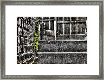 Who'll Stop The Rain Framed Print by Dan Crosby