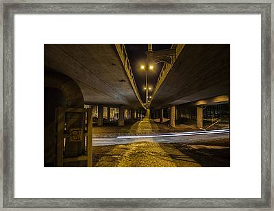 Framed Print featuring the photograph Whooshing By by Matti Ollikainen