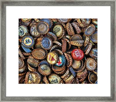Who's Counting Framed Print