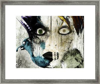 Wicked Framed Print by Jenn Bodro