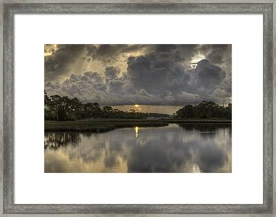 Wicked Morning Framed Print by David Troxel