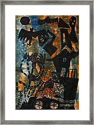 Wicked Framed Print by Stephanie Ward