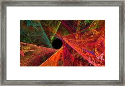 Wide Eye Color Delight Panorama Framed Print by Andee Design