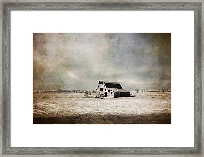 Wide Open Spaces Framed Print by Julie Hamilton