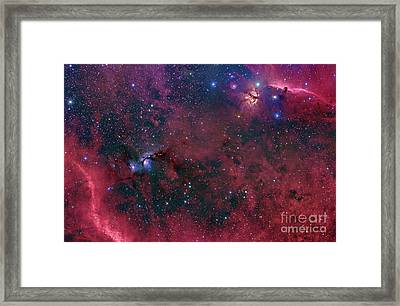 Widefield View In The Orion Framed Print by John Davis